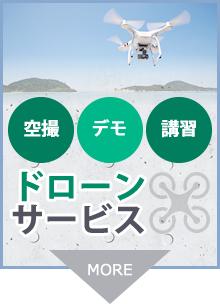 空撮・デモ・講習 ドローンサービス
