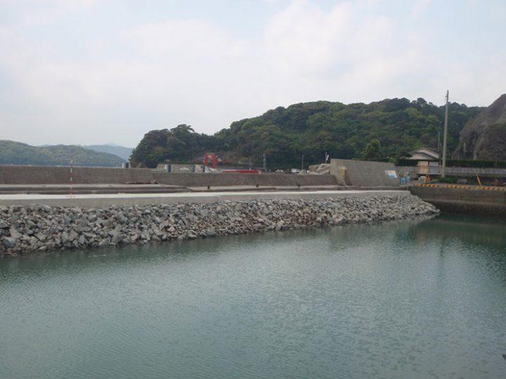 葛輪漁港水産生産基盤(一般)整備工事(2工区)