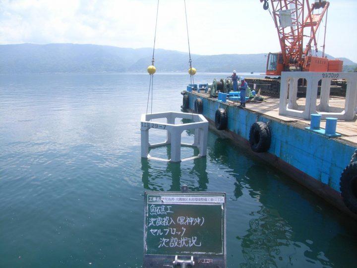 鹿児島湾・大隅地区水産環境整備工事(1工区)